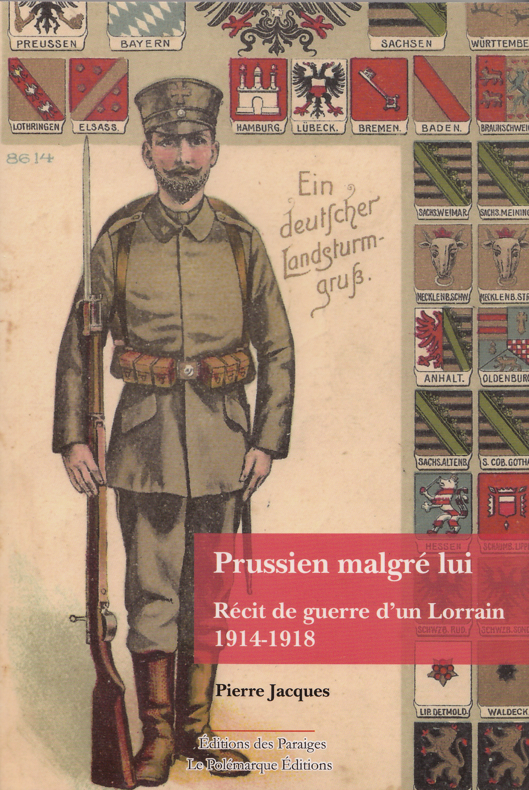 1re de couverture Pierre Jacques