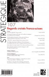 4e de couverture Stratégique Suisse